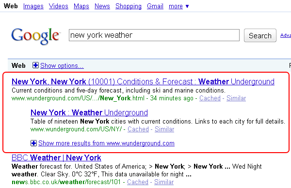 double-search-results