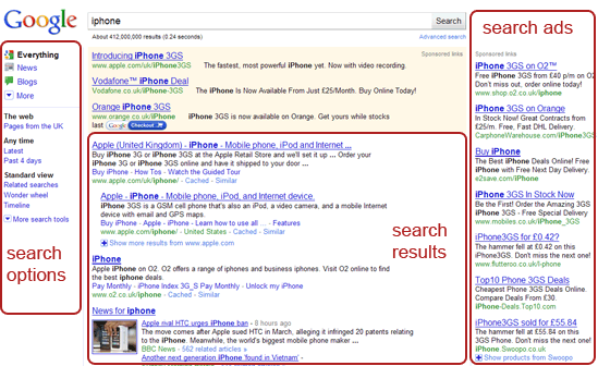 how google s new layout changes the search landscape seo blog of