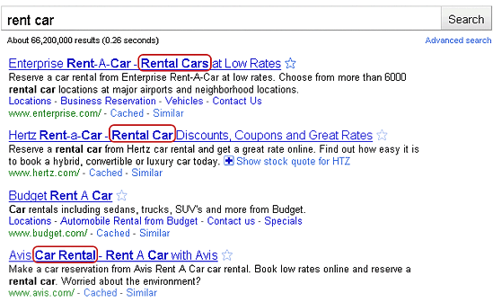 rent-car-serp