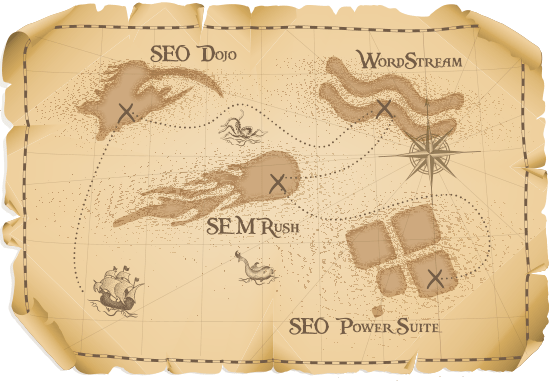 SEO contest map