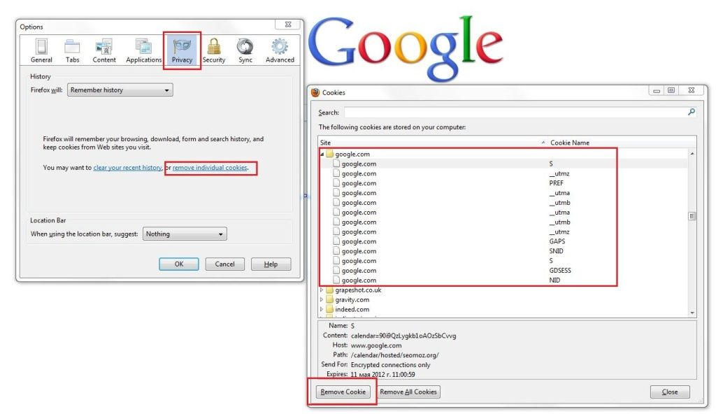 how to permanently delete browsing history on pc