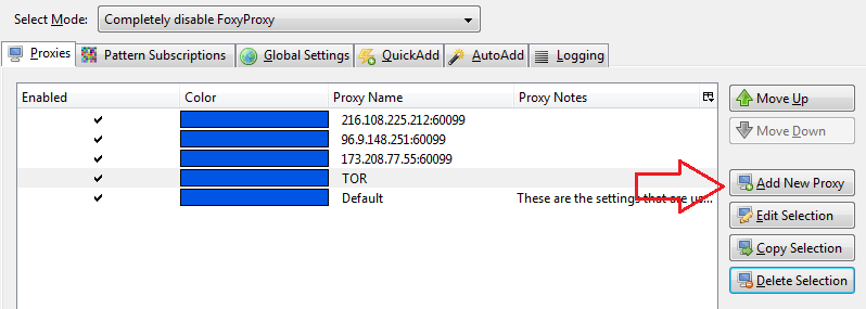 List proxy - 5 na5 net