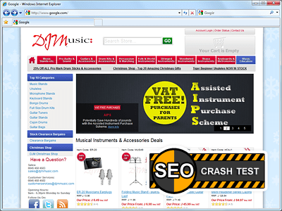 SEO Crash-Test 53