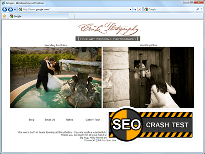 SEO Crash-Test 59