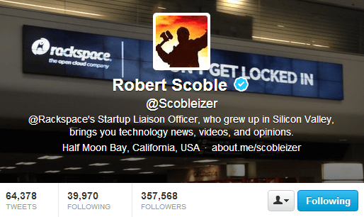 robert scoble twitter