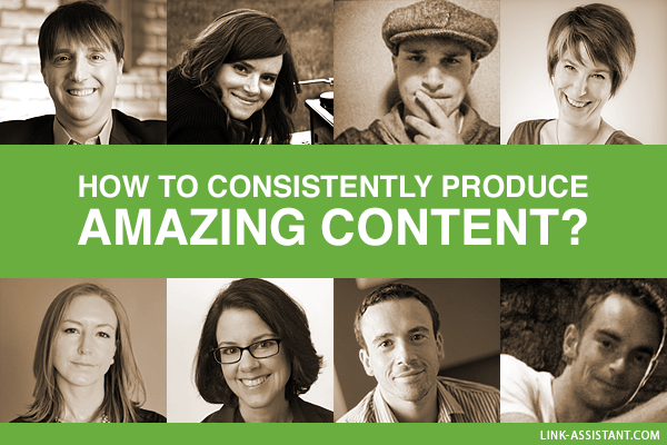 How to consistently produce amazing content?