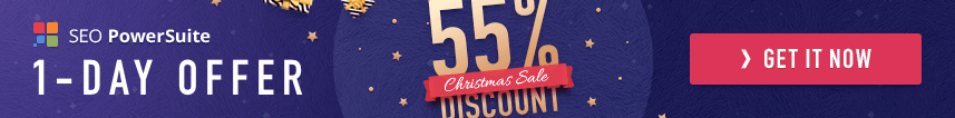 SEO PowerSuite Christmas Sale 2018