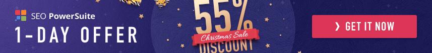 SEO PowerSuite Christmas Sale 2018