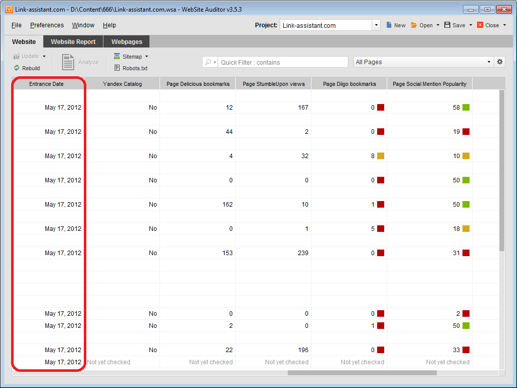 go through the complete list of seo powersuite s features