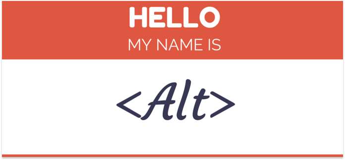 My name is Alt