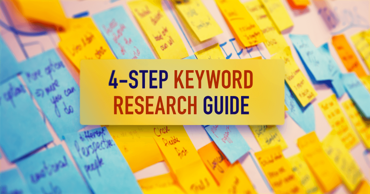 4-Step Keyword Research Guide