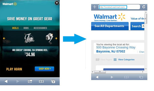 mobile walmart fishing gear ad How to Get Your Mobile Strategy Ready for Multi Screen Web (Plus Brands That Did It Right)