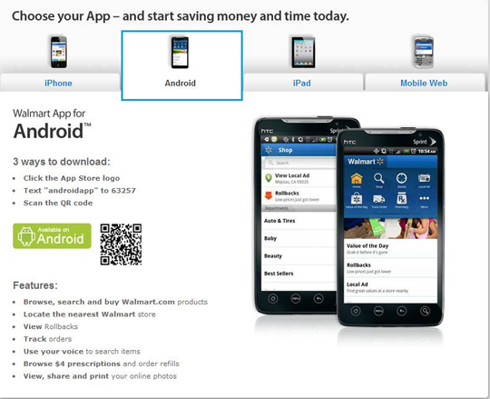 mobile walmart How to Get Your Mobile Strategy Ready for Multi Screen Web (Plus Brands That Did It Right)