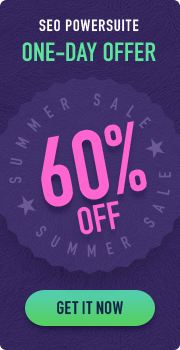 SEO PowerSuite Summer Sale 2019