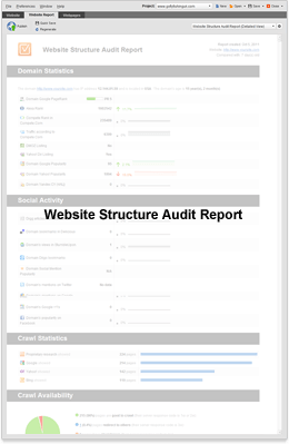 Site Structure Audit Report