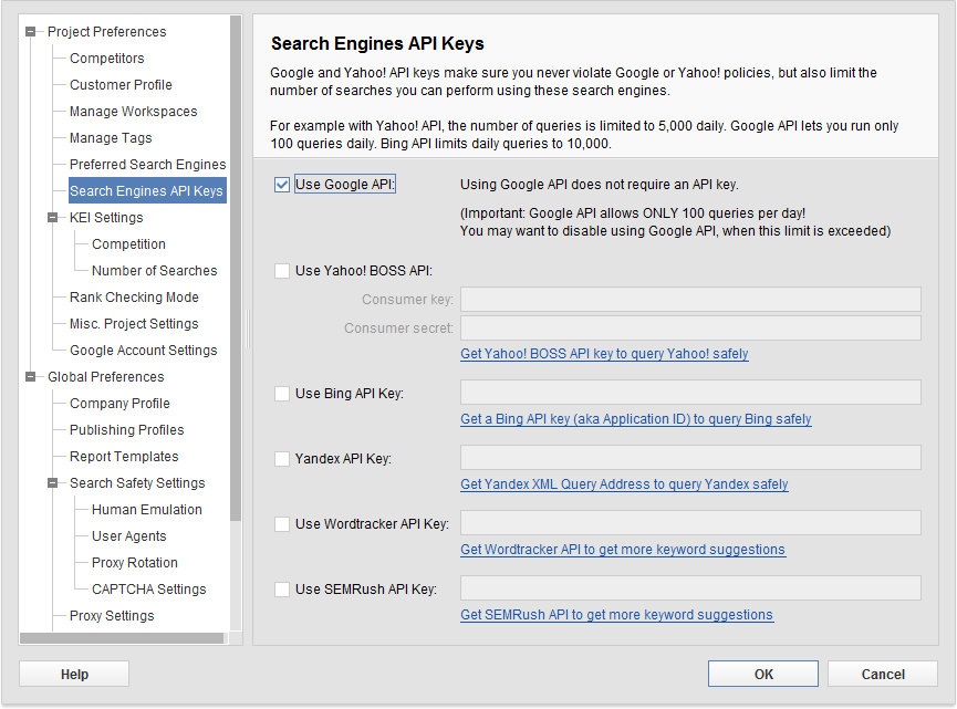 Check out the exclusive SEO PowerSuite's feature list