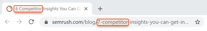 Editing URLs