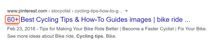 How to make users click on a title