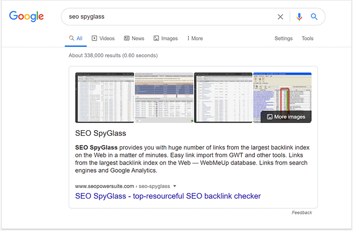 Add structured data to get highlighted in featured snippet on the SERP
